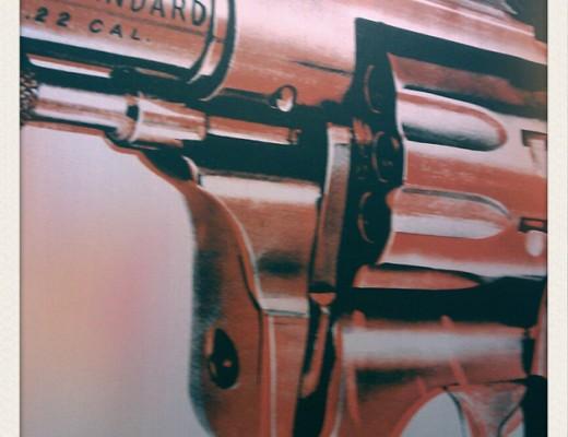 Andy Warhol - gun