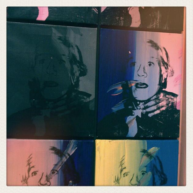 Andy Warhol - strangle