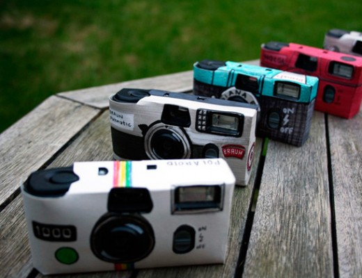 disposable wedding cameras with hand-drawn covers