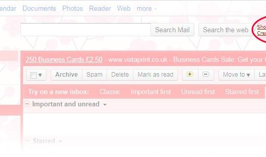 gmail - search unread