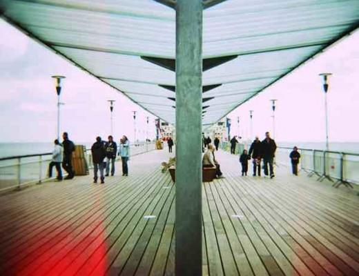 lomo diana - bournemouth pier