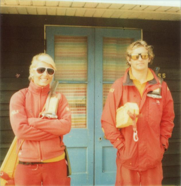 Bournemouth lifeguards - polaroid