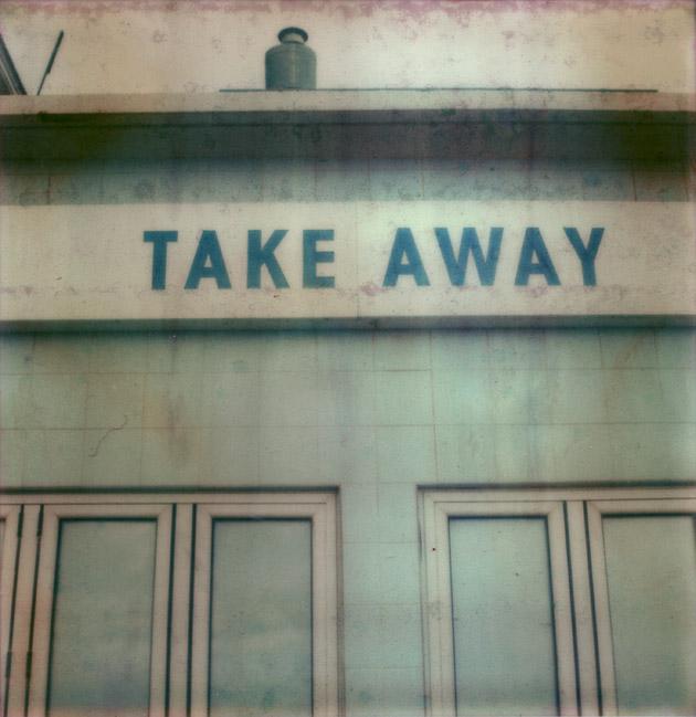Take Away - polaroid