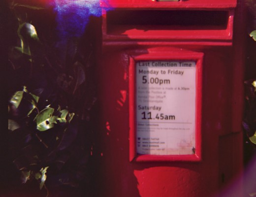 lomo diana - post box