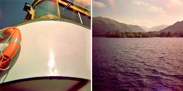 lomo diana - boat trip