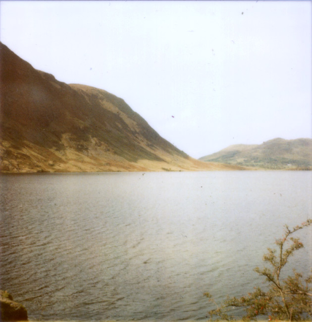 polaroid - another lake - lake district