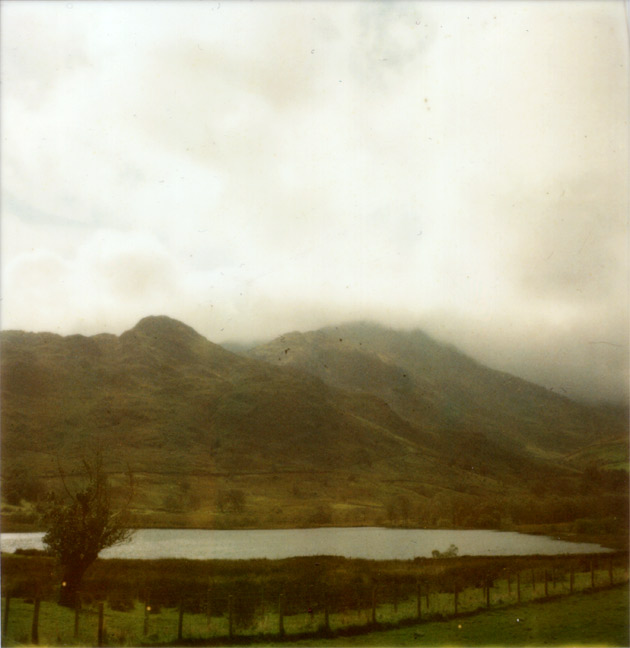 polaroid lake - somewhere in the lake district
