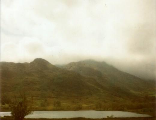 polaroid lake - somewhere in the lake district