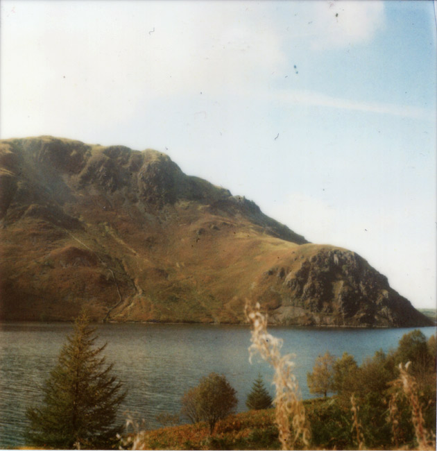 polaroid - ennerdale - lake district