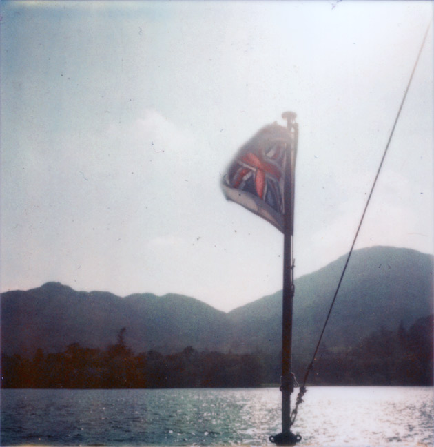 polaroid - flag