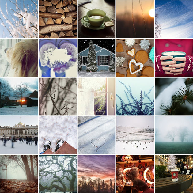 100 days of winter flickr group