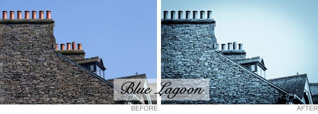 lightroom preset - blue lagoon