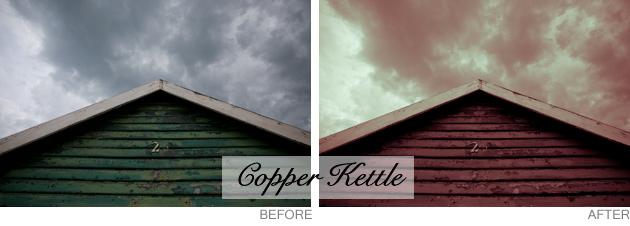 lightroom preset - copper kettle