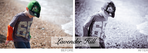 lightroom preset - lavender hill