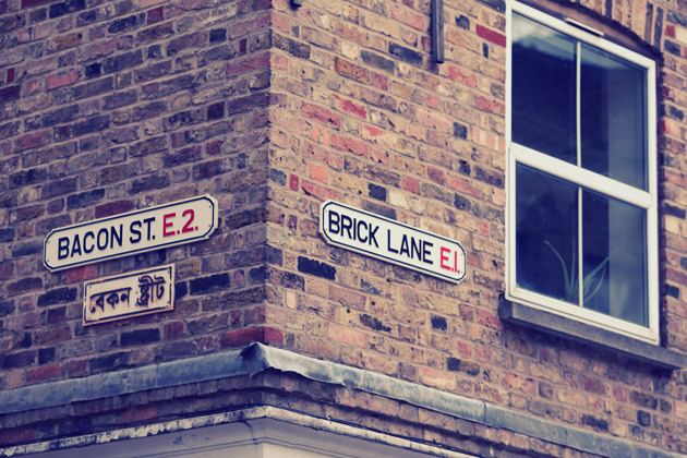 Brick Lane - with instagram effect applied