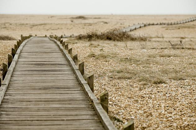 dungeness - walkway to nowhere