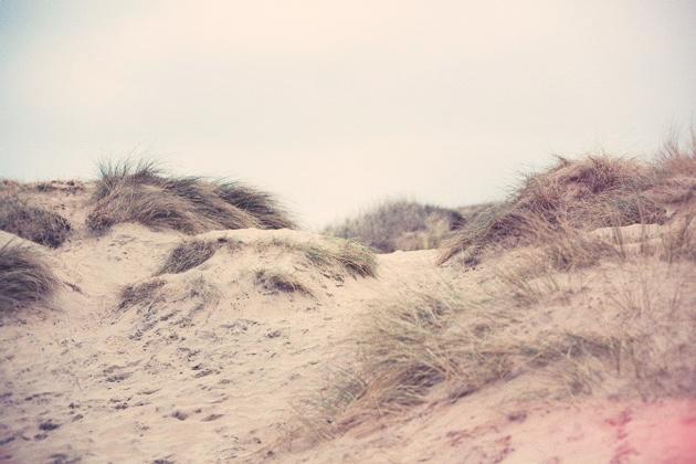 Camber Sands - dunes