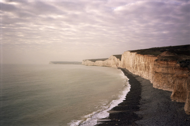 Beachy Head - taken with Konica C35