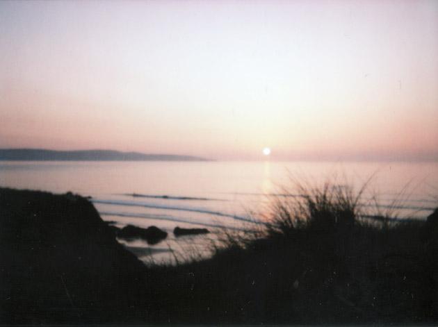 instax mini - sunset