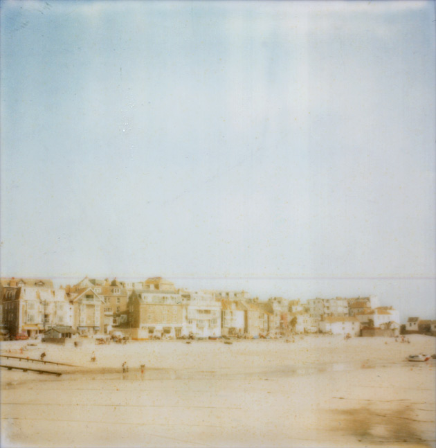 Polaroid of St Ives, Cornwall