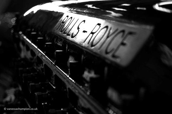 Rolls Royce - copyright Vanessa Champion