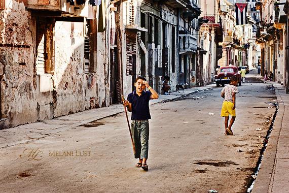 Melani Lust - Cuba - Havana street boy