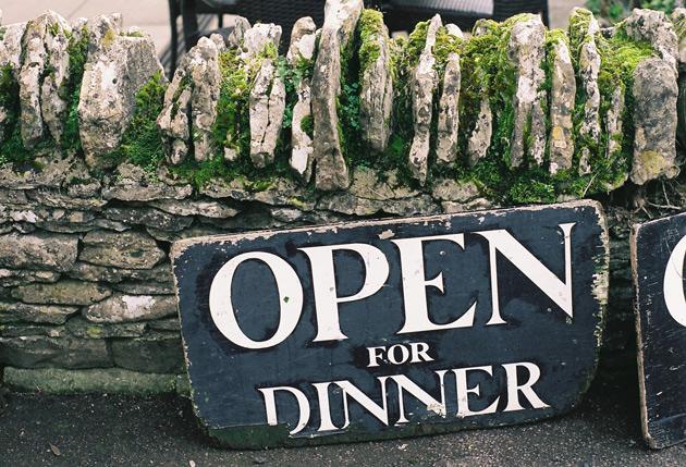 open for dinner - Pentax K1000