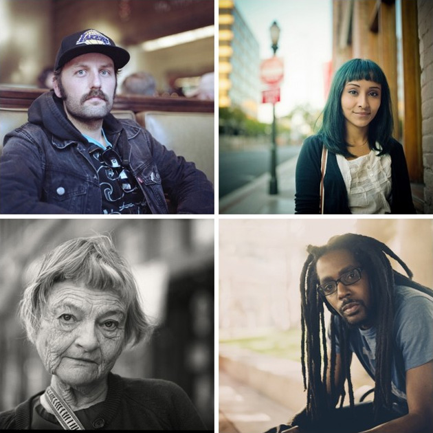 100 strangers by andy kennelly