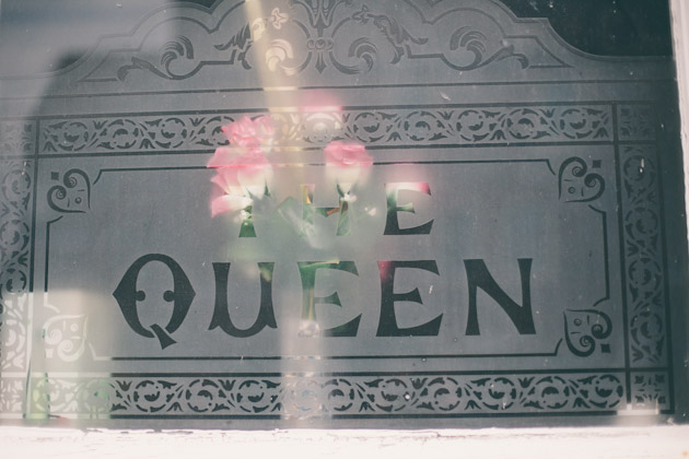 The Queen - window