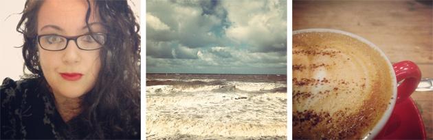 me, the sea and coffee