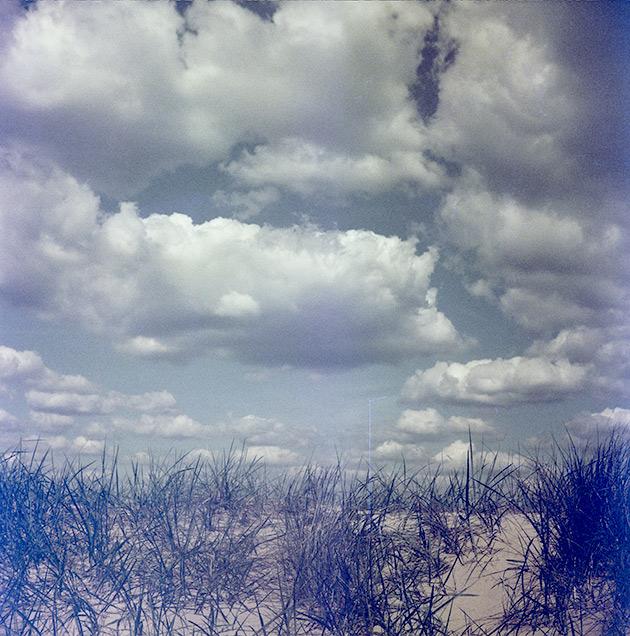 Clouds - Lubitel 2 (redscale)