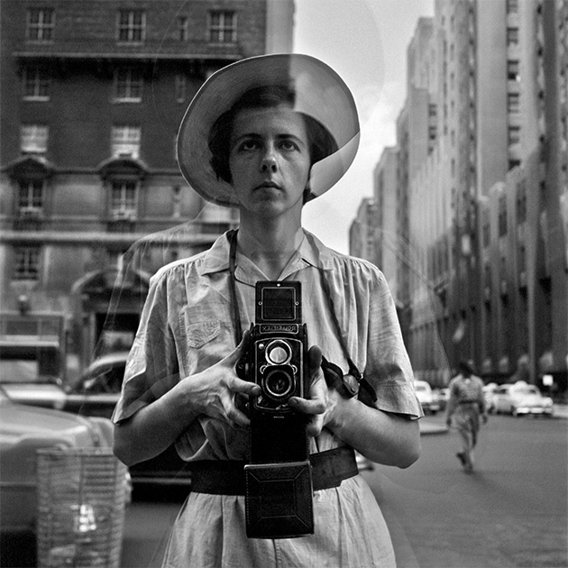 vivian maier - self-portrait