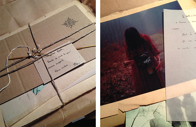 my package from Aëla Labbé