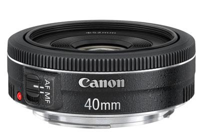 Canon EF 40mm f?2.8 STM lens