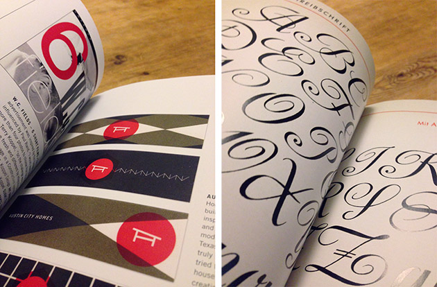 typographic books