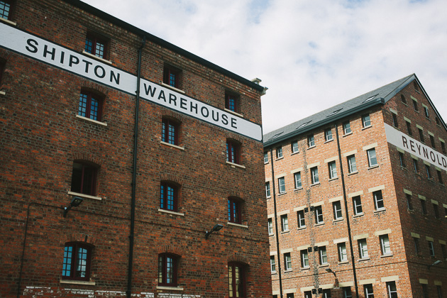 Warehouses, old Gloucester docks