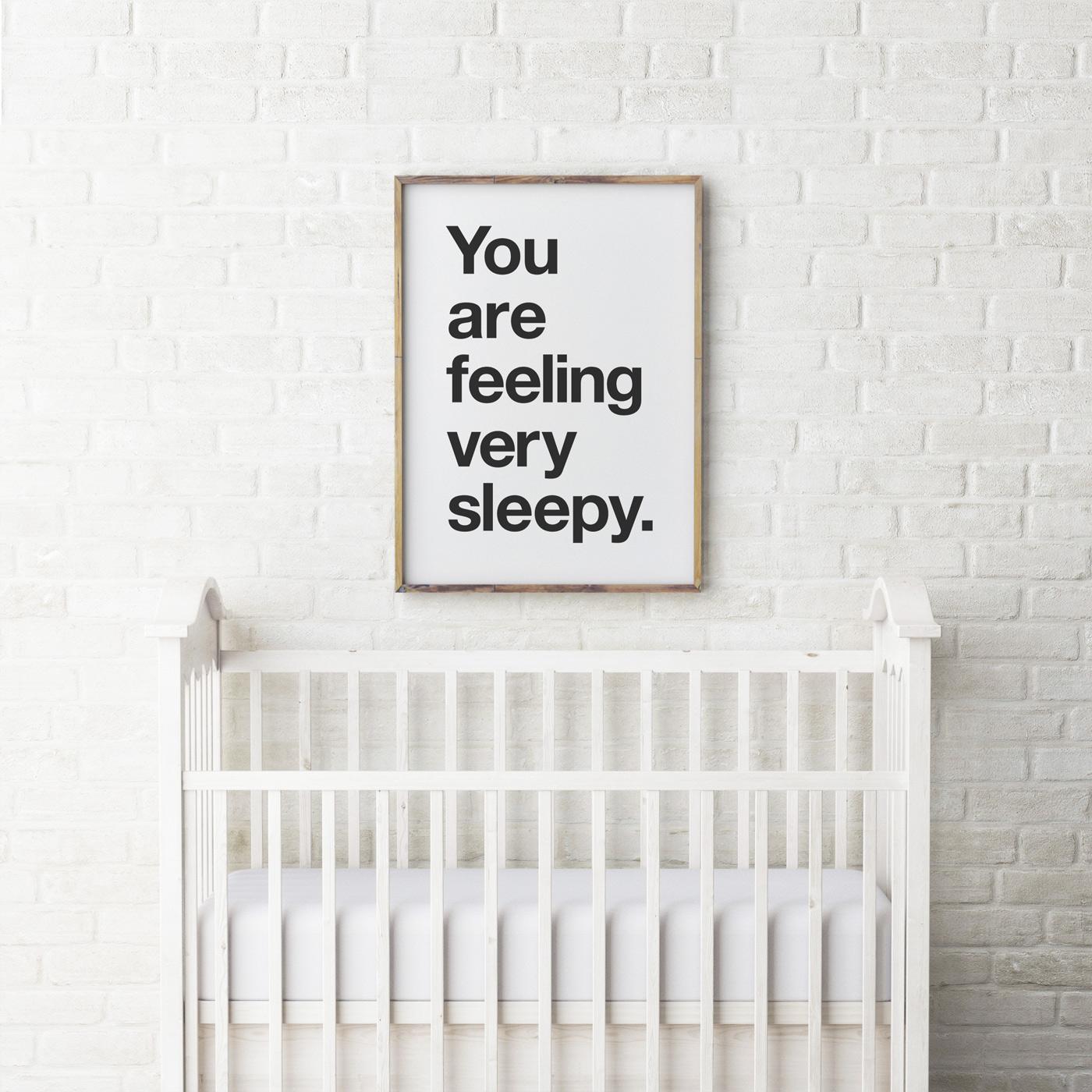 PaperPaper - printable - you are feeling very sleepy