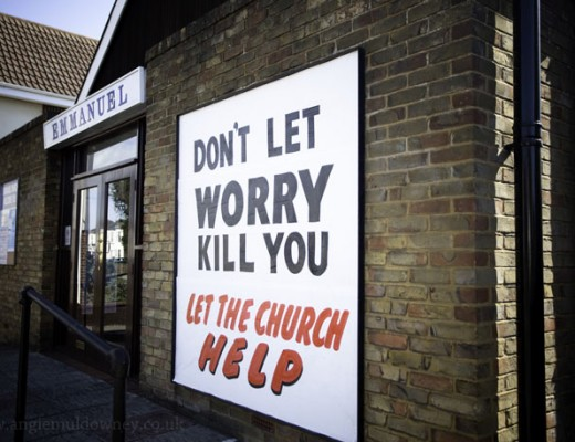 Don't Let Worry Kill You - Let The Church Help