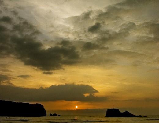 sunset-at-perranporth
