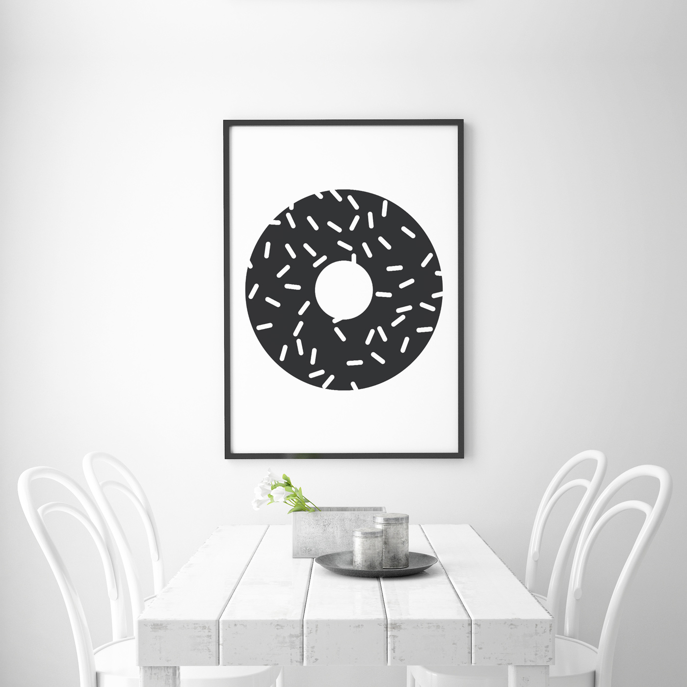 donut - downloadable printable poster