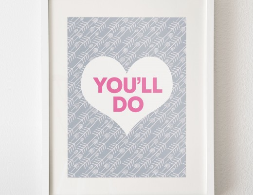 You'll Do print from PaperPaper